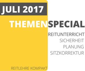 Themenmonat Juli: Reitunterricht & Pferdeausbildung